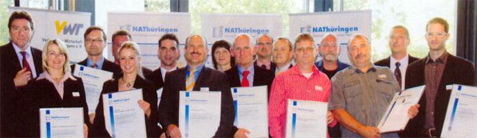 NAThüringen 2011: VISTA electronic GmbH Zertifizierung